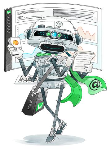 smec Illustration for Whoop! Services