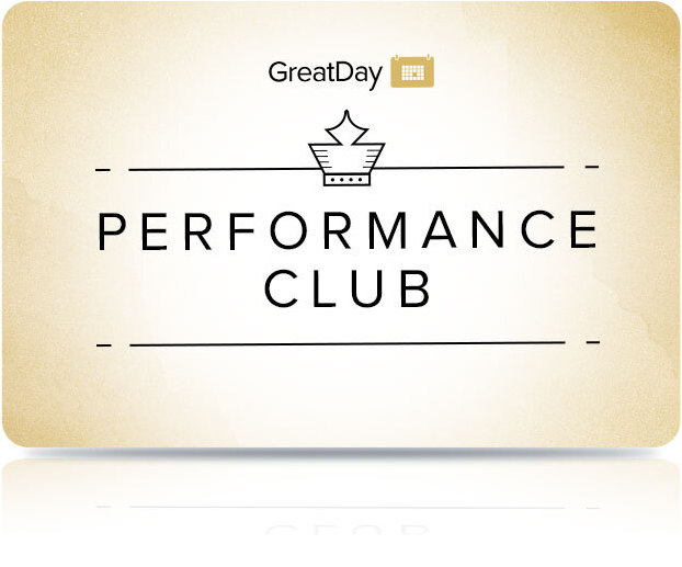 Performance Club for Great Day Event